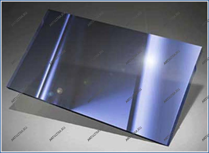 Напыление металла на стекло