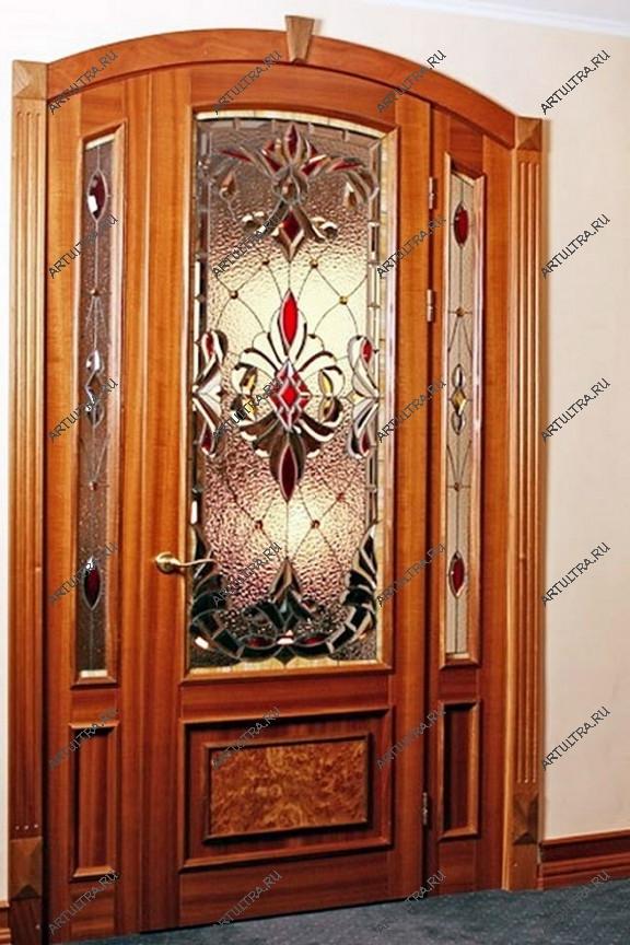 витражи на входные двери
