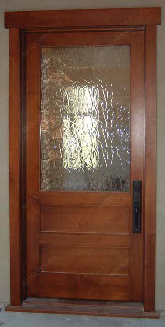 Изготовление двери со стеклом своими руками