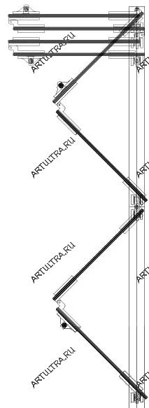 схема размещения секций в