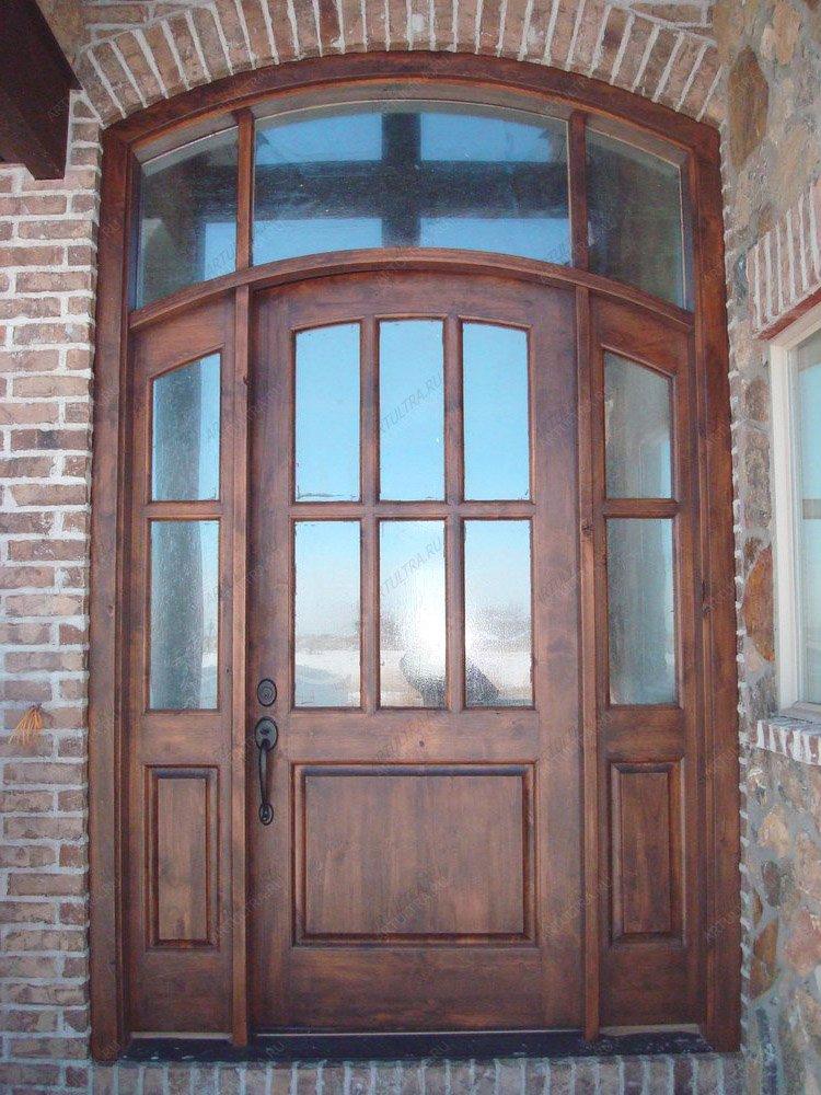 входные двери для коттеджей из стеклопакетов
