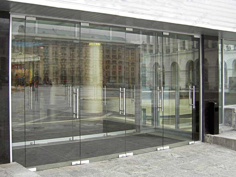 Стеклянные двери для магазинов - Все фотографии