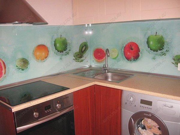Фото фотовитражи на кухне