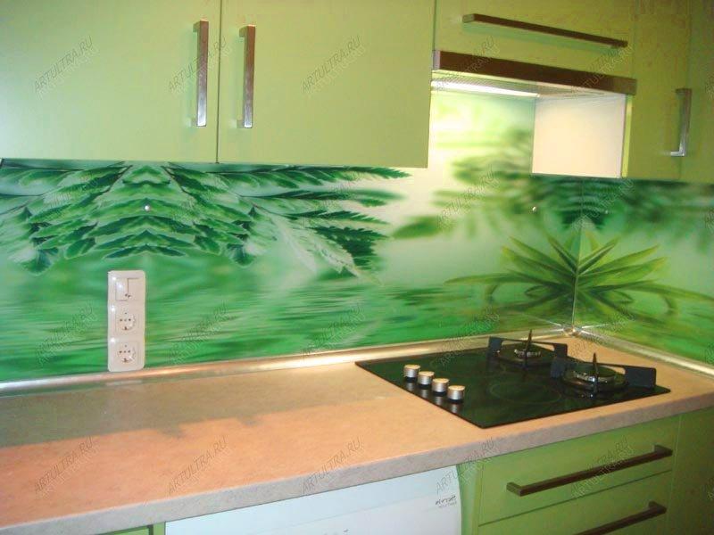 печать на стекле фото кухня