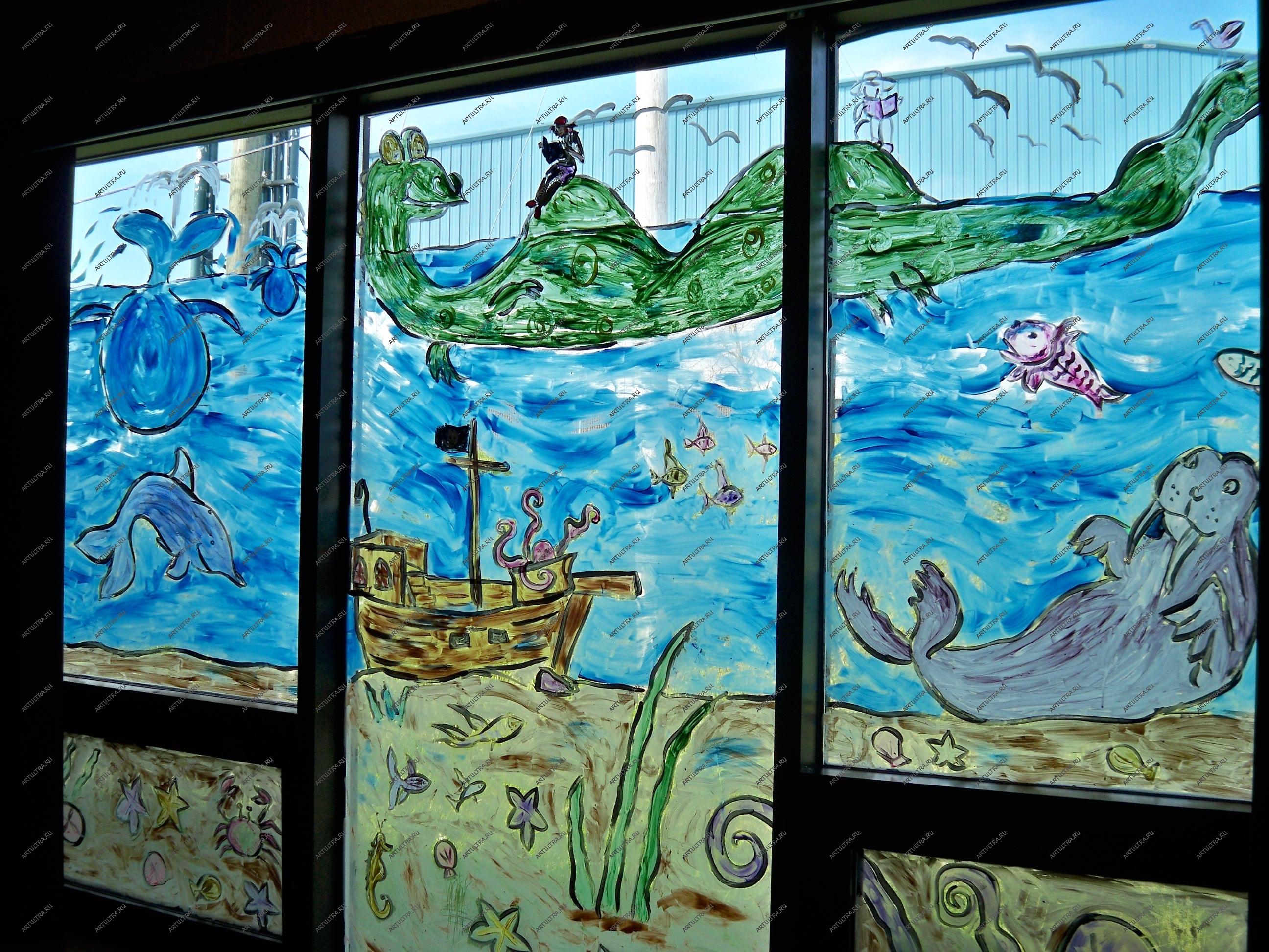 Сайты росписи стекла