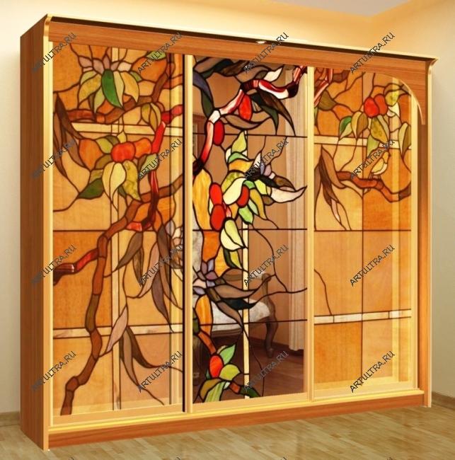 Дизайн стекла для шкафа купе