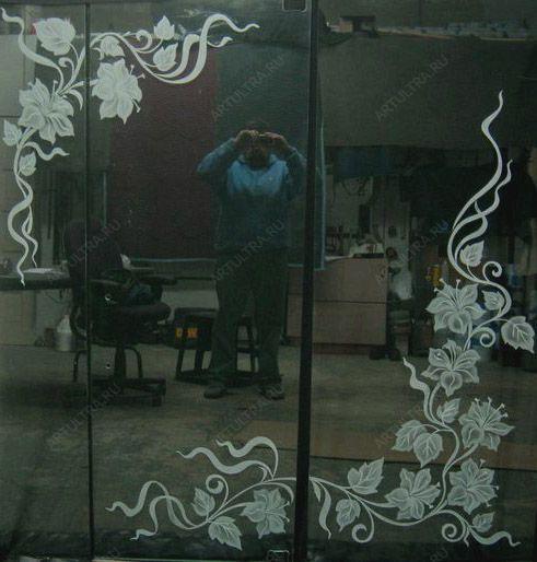 рисунки на зеркале:
